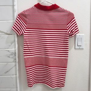 Lacoste Tops - Lacoste Striped Polo Top